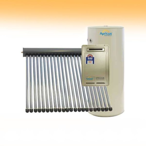 Apricus Solar Hot Water Gas Booster