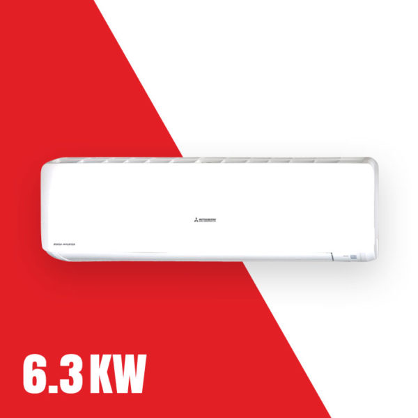 Mitsubishi 6.3kW Split System Reverse Cycle Air Conditioner