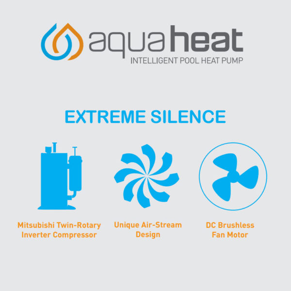 Aquaheat Pool Heat Pump Extreme Silence