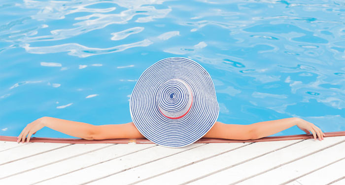 Swim All Year with a super efficient Madimack Pool Heat Pump
