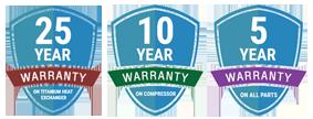 Madimack Warranty Badges
