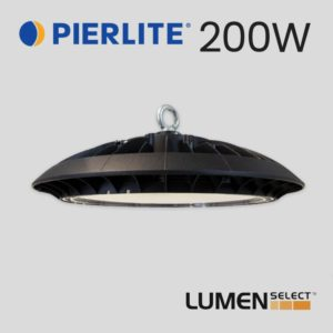 Pierlite PierLUX ECO LED High Bay Light Gen6 200W Pierlite Lumen Select