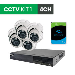 4 Channel CCTV Security Kit 1