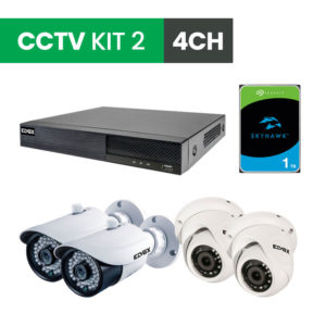 4 Channel CCTV Security Kit 2