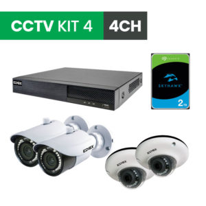 4 Channel CCTV Security Kit 4