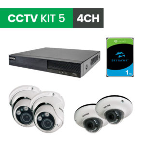 4 Channel CCTV Security Kit 5