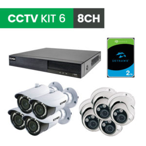 8 Channel CCTV Security Kit 6