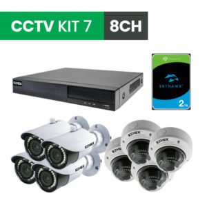 8 Channel CCTV Security Kit 7